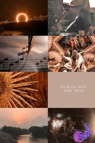 güneşin tanrısı apollo